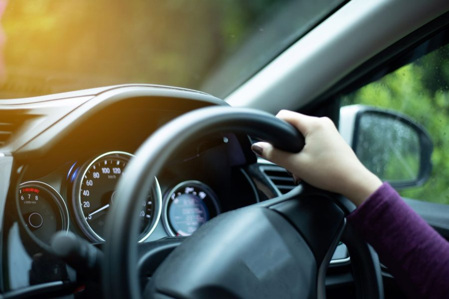 Young driver holding wheel - Motability blog