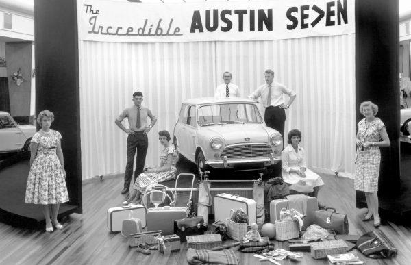 Launch of the Austin Seven in 1969